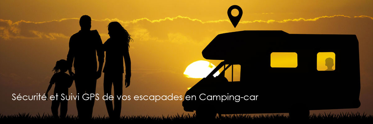 Traceur GPS pour camping car