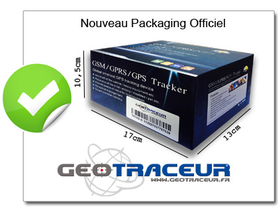 packaging tk102 geotraceur